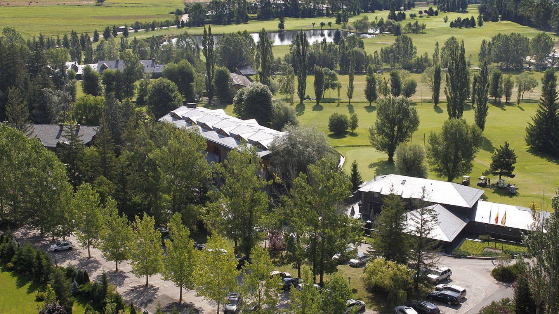 Panorámica Hotel Golf Cerdanya.