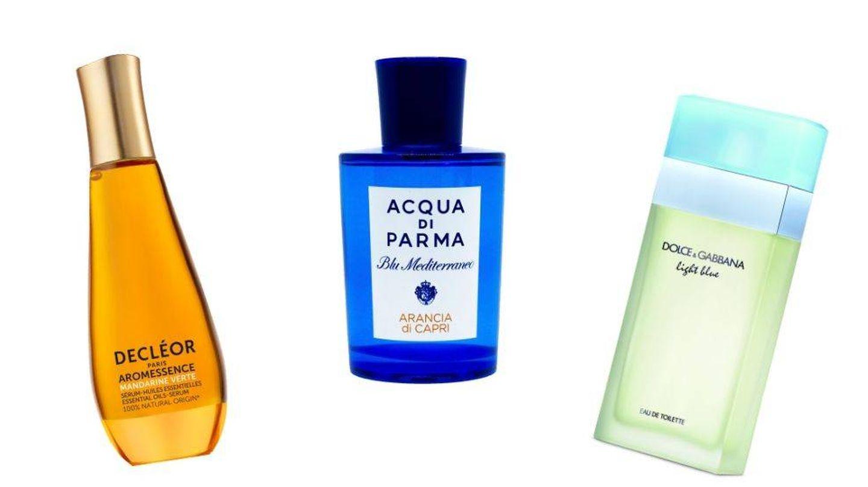 Perfumes cítricos.