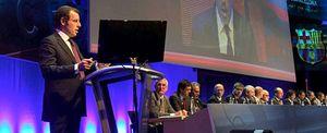 La Asamblea del Barça ratifica el acuerdo con Qatar y aprueba un Camp Nou sin humos