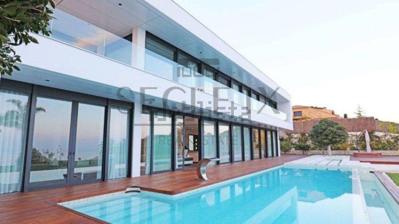 Casa a la venta por cinco millones de euros en la urbanización Súpermaresme.