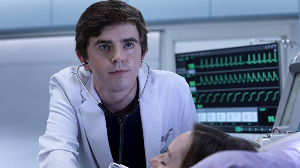 Foto: Freddie Highmore, protagonista de la serie 'The Good Doctor'. (ABC)