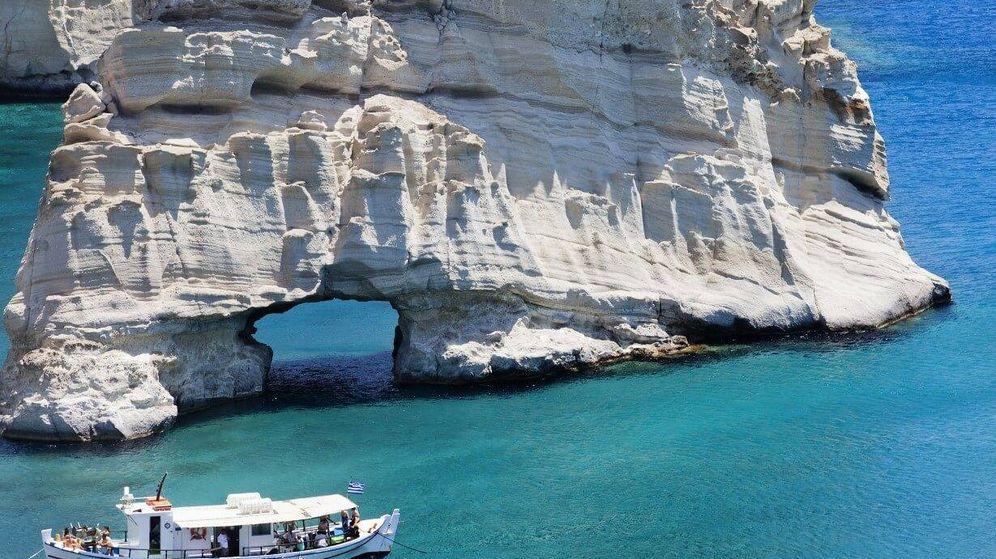 Foto: Milos, playa de Kleftiko. (trivago.es)
