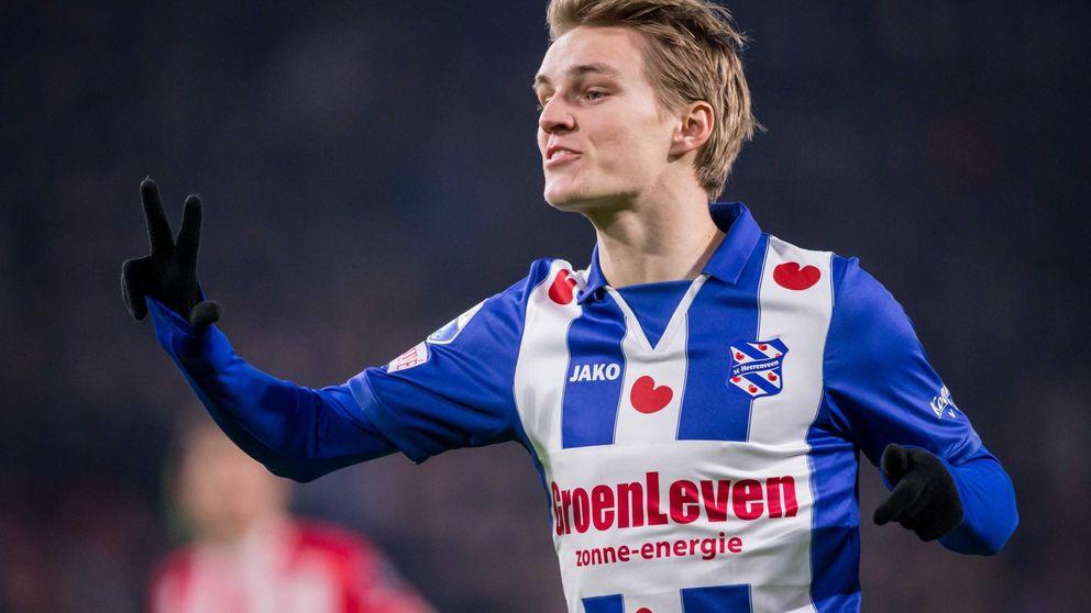 La razón por la que Odegaard juega en Holanda: no pagar 40.000€ al Madrid