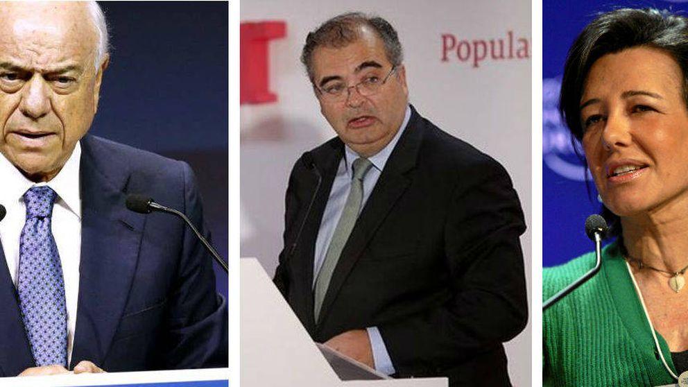 Santander, BBVA y Popular se alían para crear la mayor promotora de España