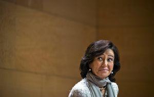 Santander sube el dividendo, no lo baja
