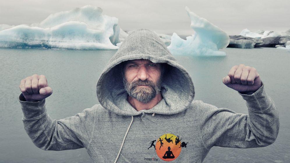 Foto: Este hombre ha ganado el pulso a los elementos. (Wim Hof)