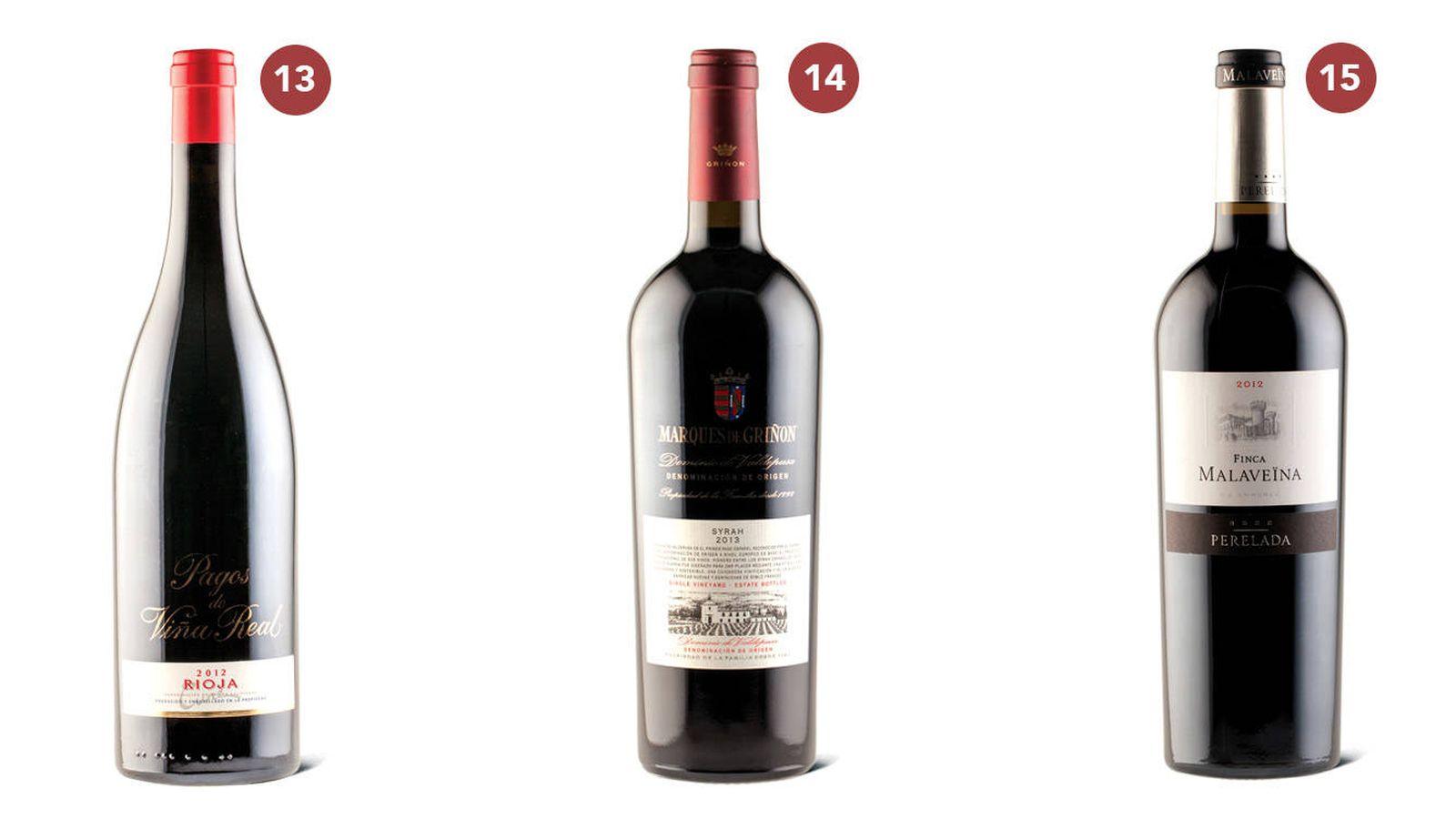 Vinos Los 30 Mejores Vinos Tintos De España