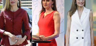 Post de Tres días, tres estrenos: los looks de la Reina Letizia esta semana