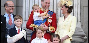 Post de El príncipe Louis, el favorito del Trooping the Colour: los detalles y debuts que eclipsó