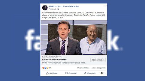 Cuidado en Facebook: un gran timo circula en forma de anuncio sobre Amancio Ortega