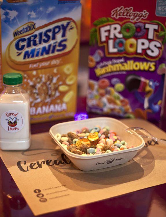 Gastronomia Nostalgia En El Tazon Nueva Tienda De Cereales Para