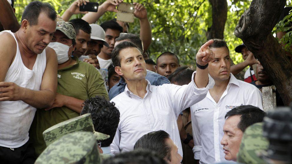 Peña Nieto regresa a la capital y convoca el comité de emergencias