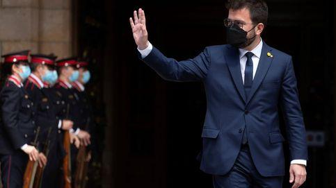 Los puntos débiles de Aragonès: la CUP, la crisis de JxCAT y negociar con Sánchez