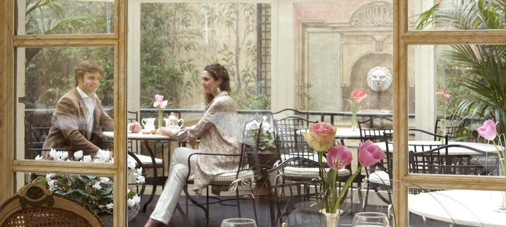 Foto: Una cena en el Hotel Orfila, un restaurante con mucho encanto en Madrid