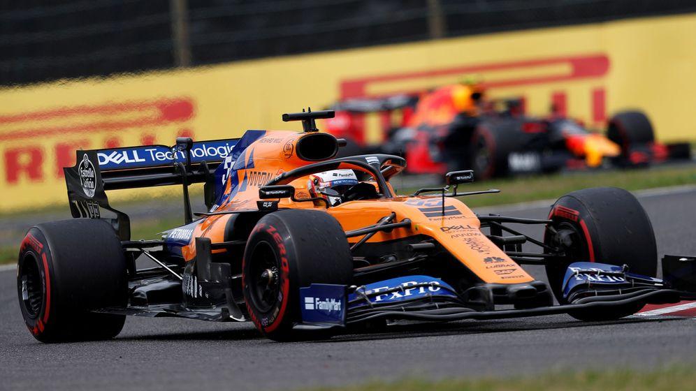 Foto: Carlos Sainz durante los entrenamientos del Gran Premio de Japón. (Reuters)