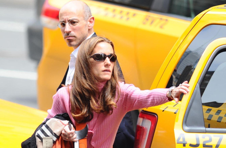 Foto: Jaime del Burgo y Telma Ortiz en Nueva York en el año 2012 (Gtres)