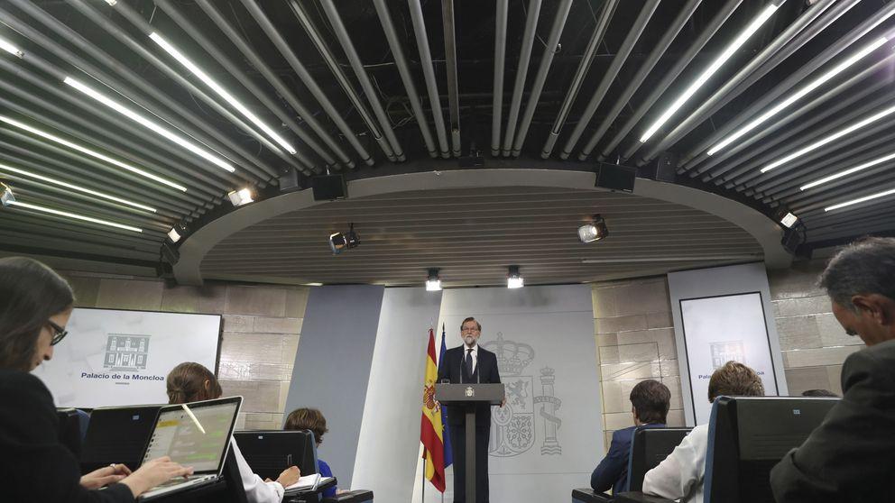 Rajoy a Puigdemont: Saben que ya no se puede celebrar, eviten males mayores