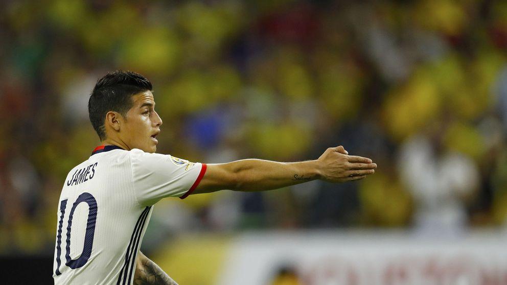 James quiere jugar en el PSG de Emery, un especialista en reflotar jugadores