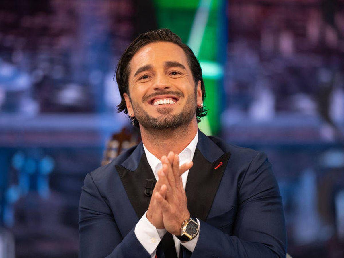 Foto: El cantante David Bustamante, en 'El hormiguero'. (Atresmedia)