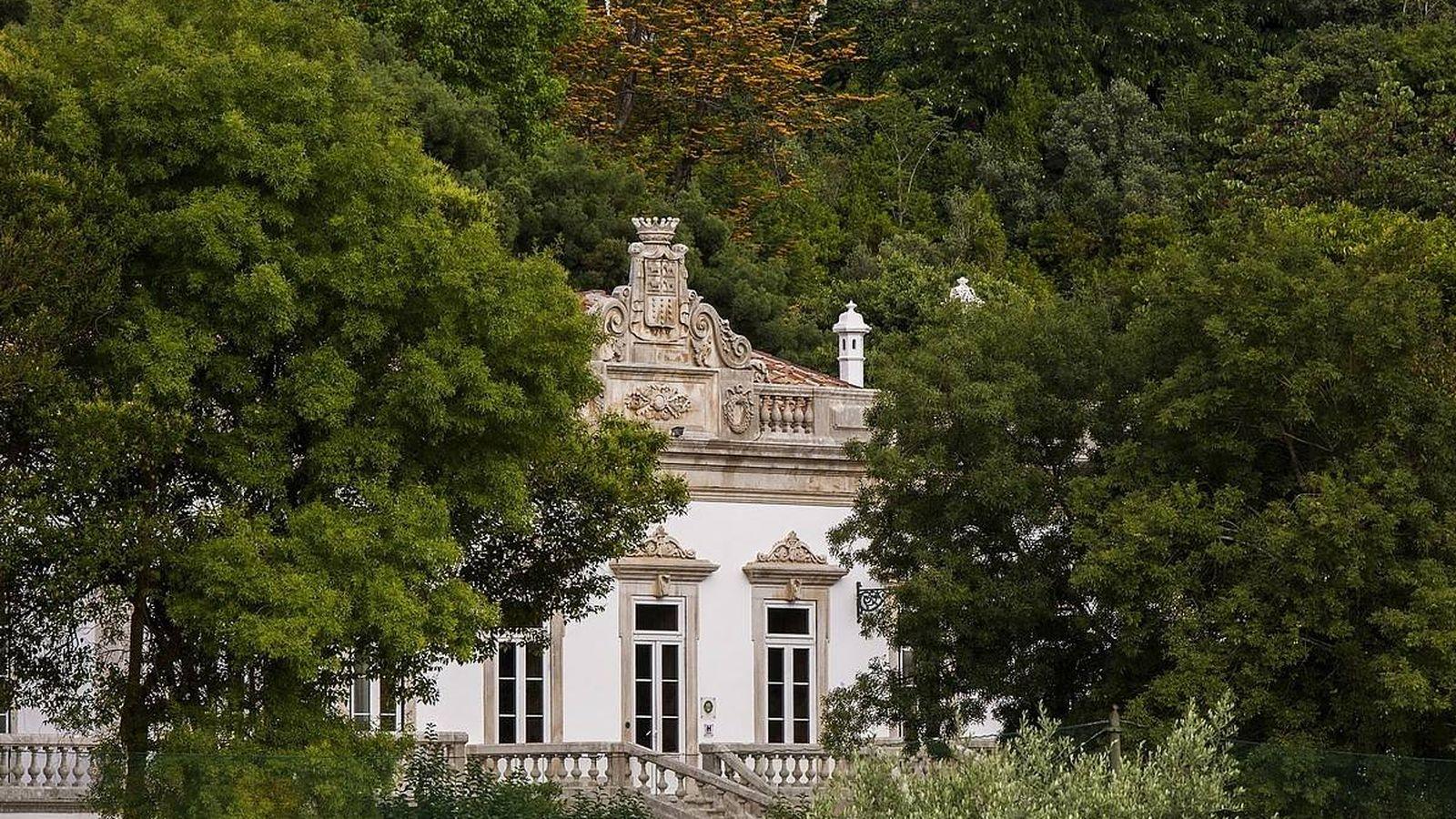 Foto: La Quinta das Lágrimas es bella y además tiene leyenda, en Coimbra.