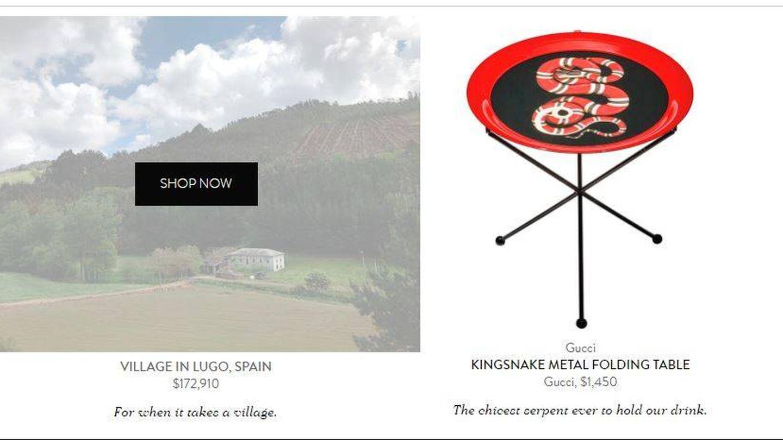 Captura del catálogo de Goop.
