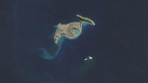 Primeras imágenes de una isla con solo cinco meses de vida en Tonga