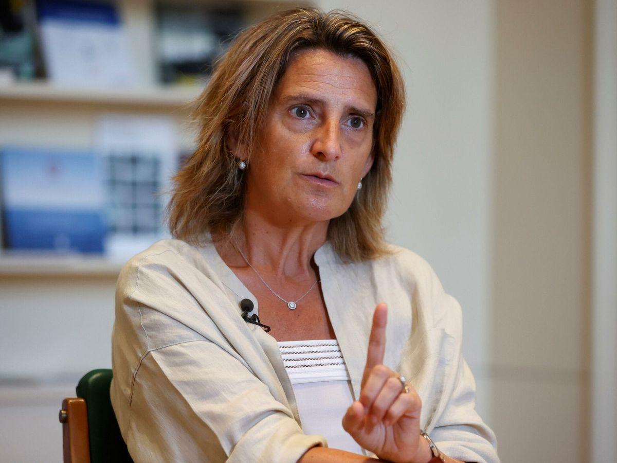 Foto: La vicepresidenta tercera del Gobierno y ministra para la Transición Ecológica y el Reto Demográfico, Teresa Ribera. (EFE)