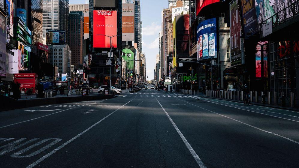 Foto: Las grandes ciudades se han quedado vacías... y las ratas, sin alimento (EFE EPA/Alba Vigaray)