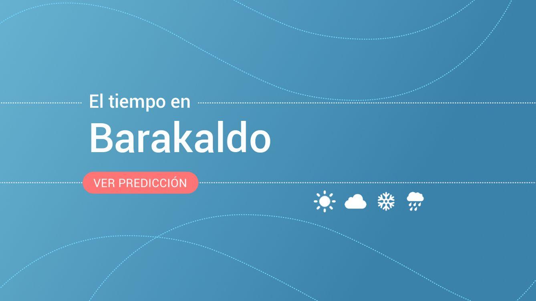 El tiempo en Barakaldo para hoy: alerta amarilla por nevadas