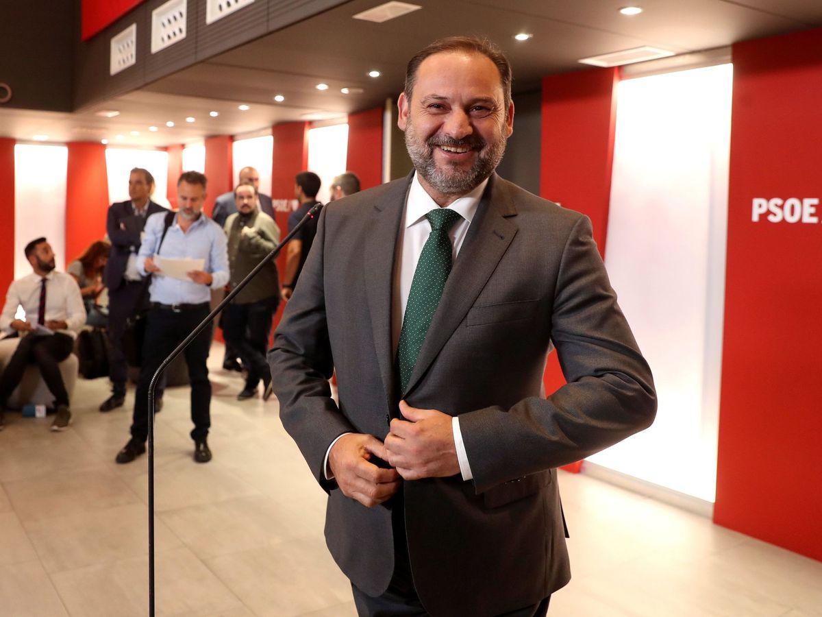 Foto: El ministro de Transporte, José Luis Ábalos. (EFE)