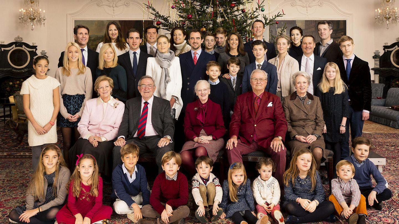 La familia real danesa, al completo (Gtres)