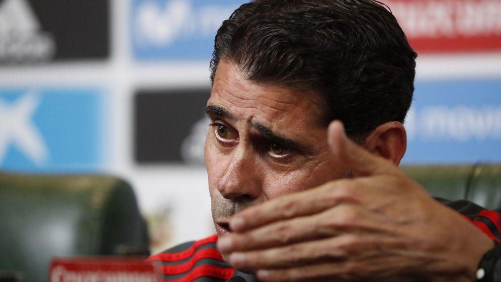 Foto: Hierro, nuevo seleccionador de España. (EFE)
