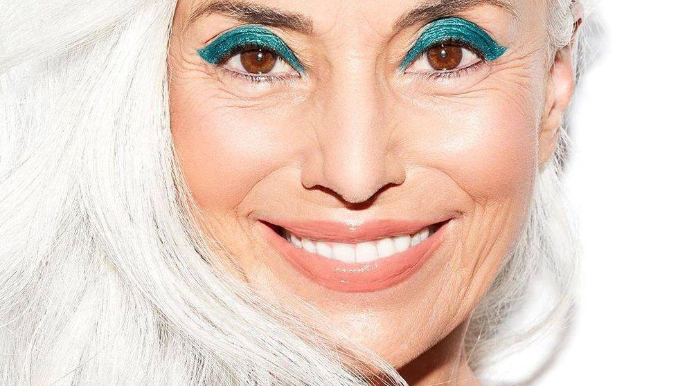 Si tienes el pelo blanco, estos son los trucos de maquillaje que te cambiarán el look