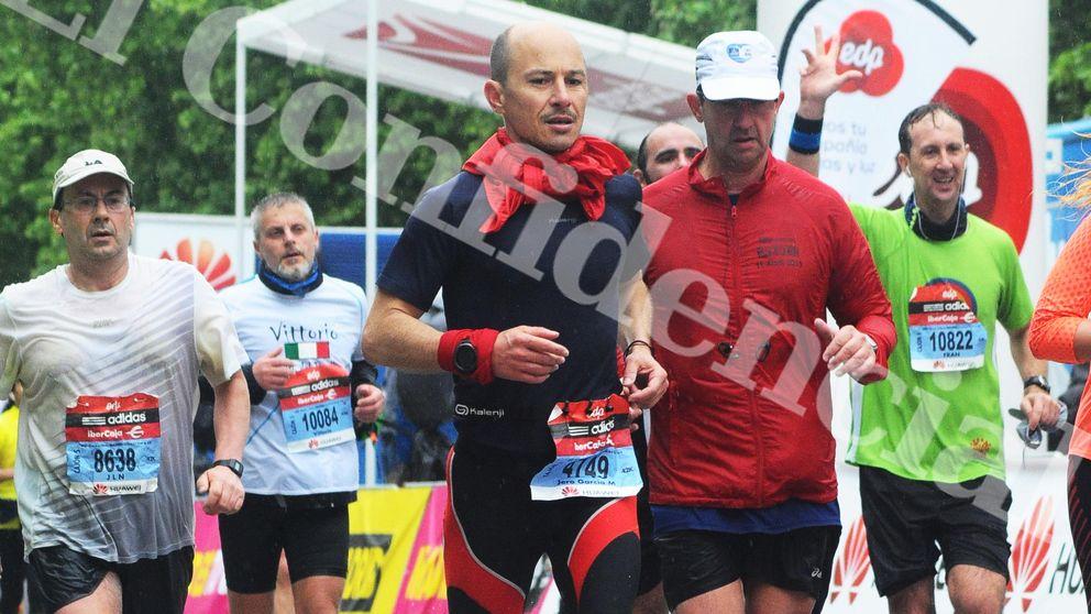 El maratoniano 'Jero' García, dorsal 4.749