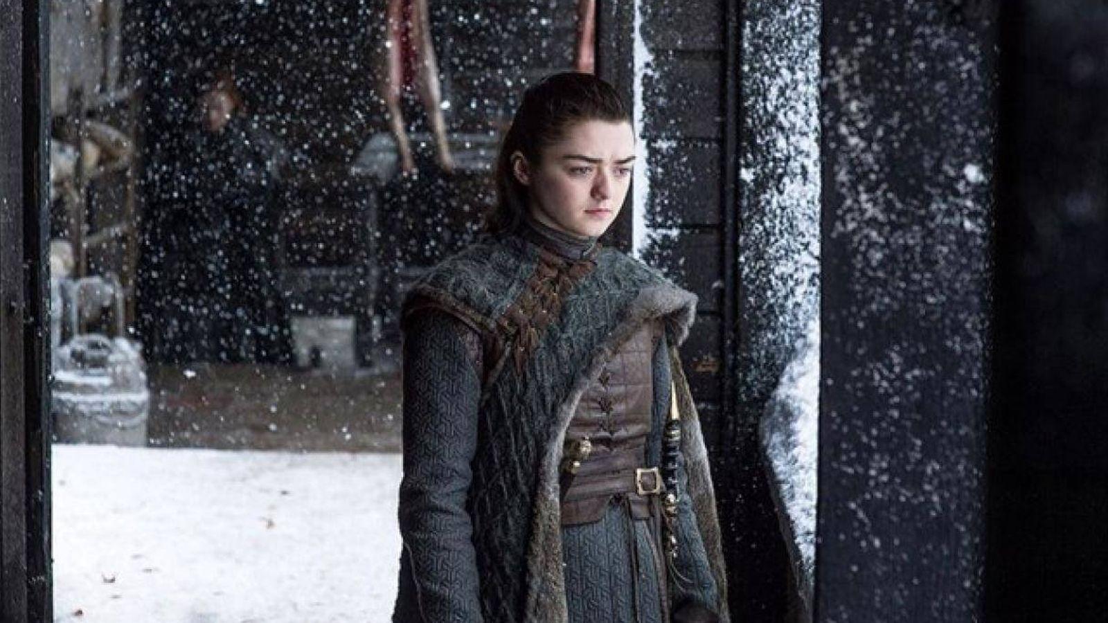 Foto: Arya Stark en 'Juego de Tronos'. (HBO)