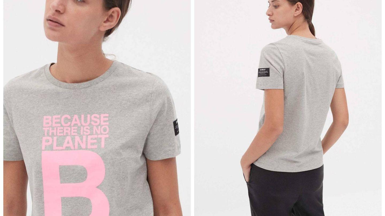 Así es el diseño de la camiseta de Ecoalf. (Cortesía)