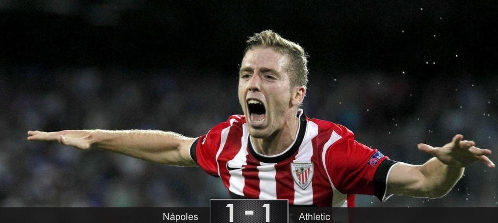 Foto: Muniain acerca la Champions a Bilbao