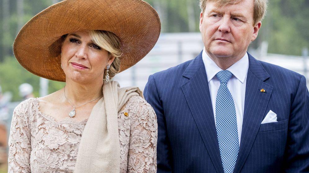 Foto: Los reyes de Holanda, en una visita oficial a Luxemburgo. (Getty)