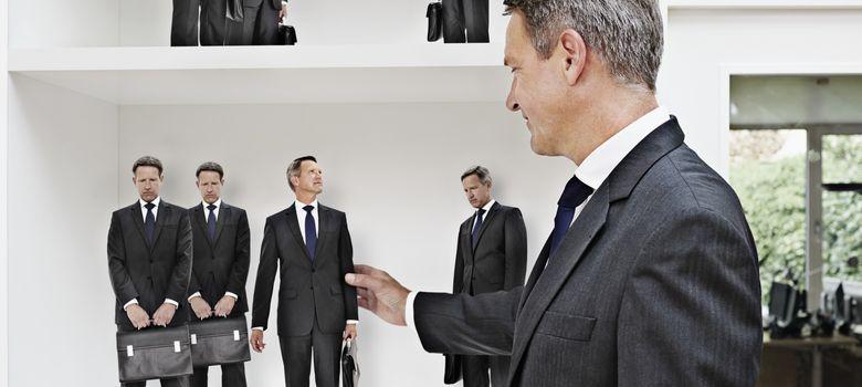 Foto: Los sectores rutinarios, como las secretarías, se han llevado la peor parte de la caída del empleo. (Corbis)