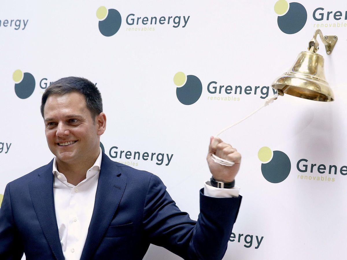 Foto: El consejero delegado de Grenergy Renovables, David Ruiz. (EFE)