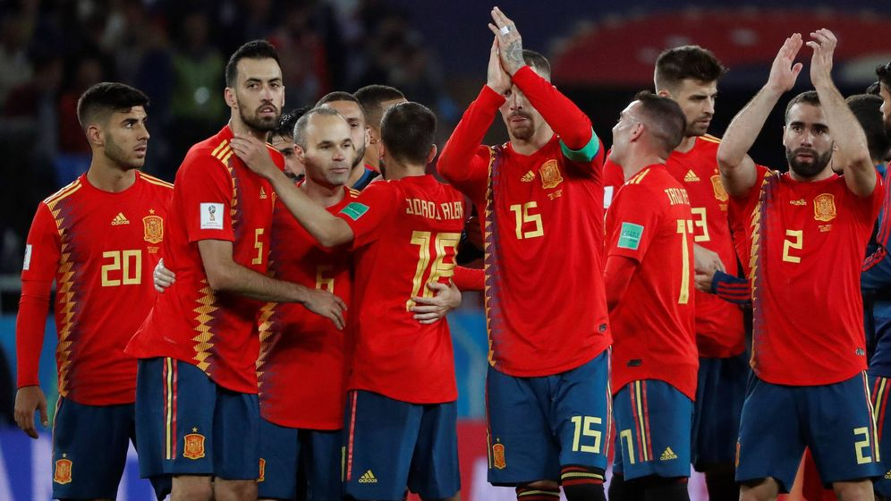 Foto: España empata ante Marruecos. (EFE)