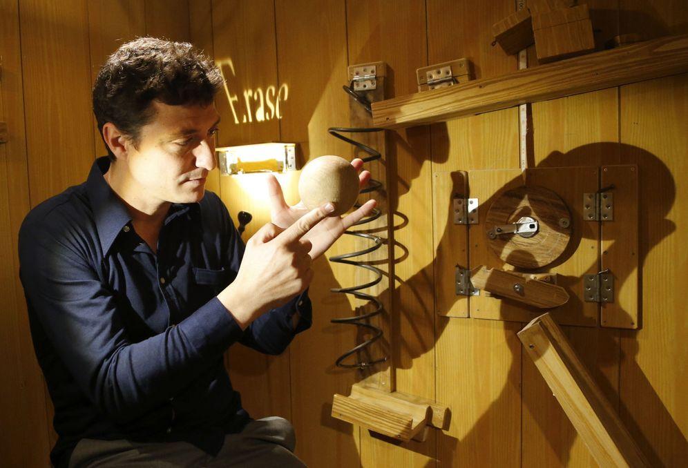 Foto: Nacho Diago presenta en Madrid 'La caja' (Efe)