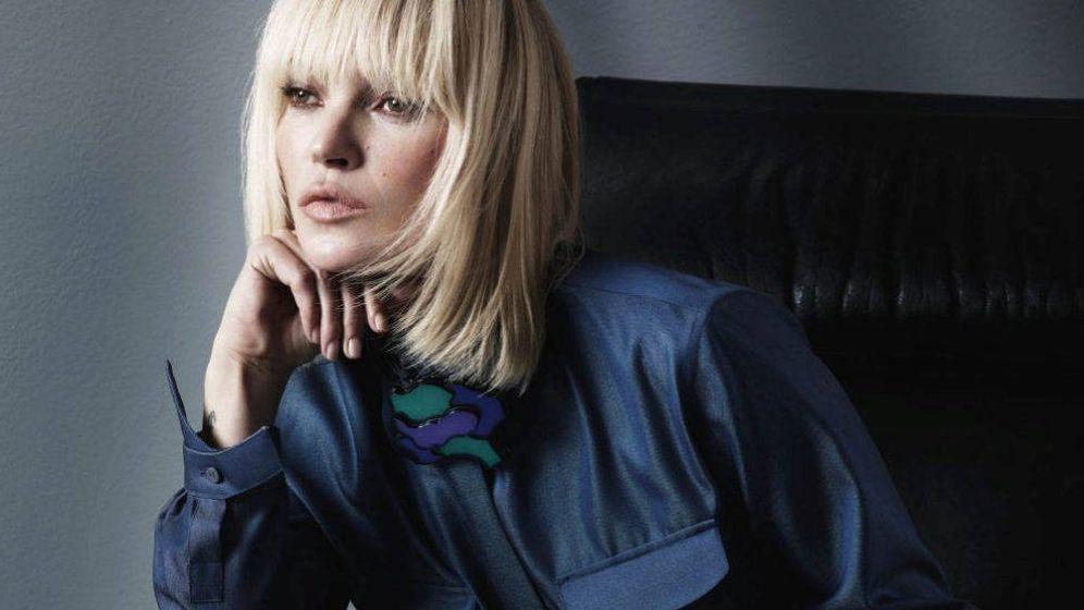 Foto: Kate Moss para Giorgio Armani. (Mert Alas y Marcus Piggott)