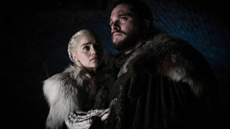 Daenerys y Jon Nieve, en 'Juego de tronos'. (HBO)