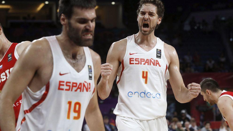 España evita a Estados Unidos hasta las semifinales en el Mundial de baloncesto