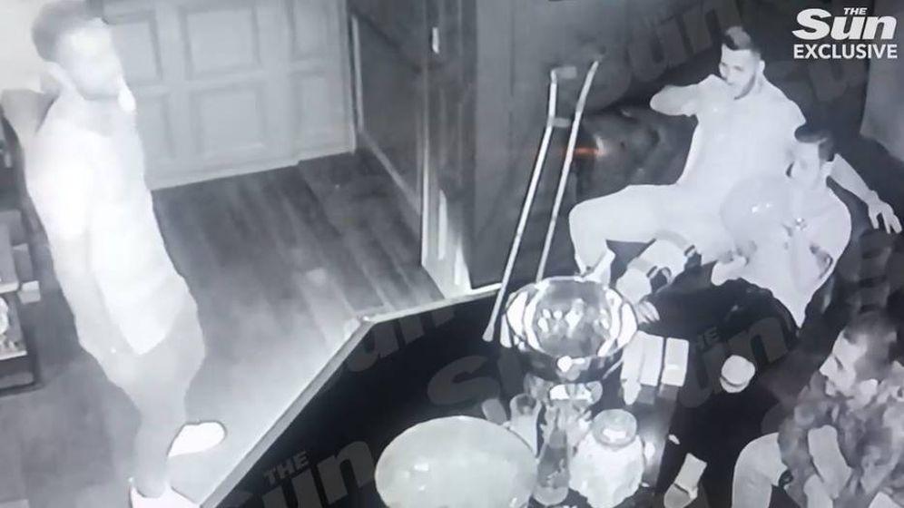Foto: Imagen del vídeo publicado por The Sun.