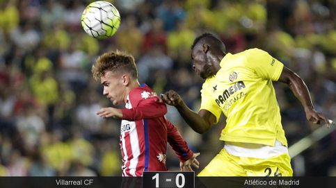 El Villarreal frena en seco el 'juego del nueve' del Cholo para agarrar el liderato