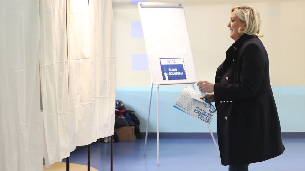 Foto: Marine Le Pen. (Efe)