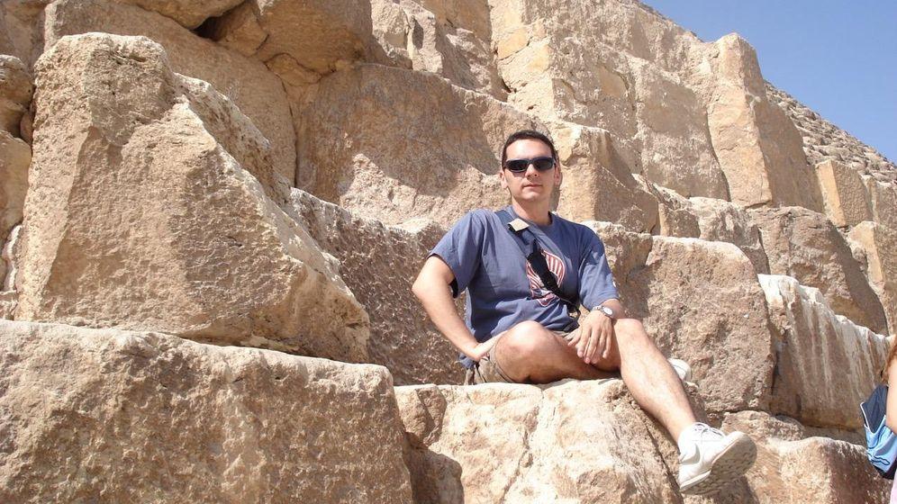Foto: Juan García, desarrollador del videojuego 'Prehistory'.