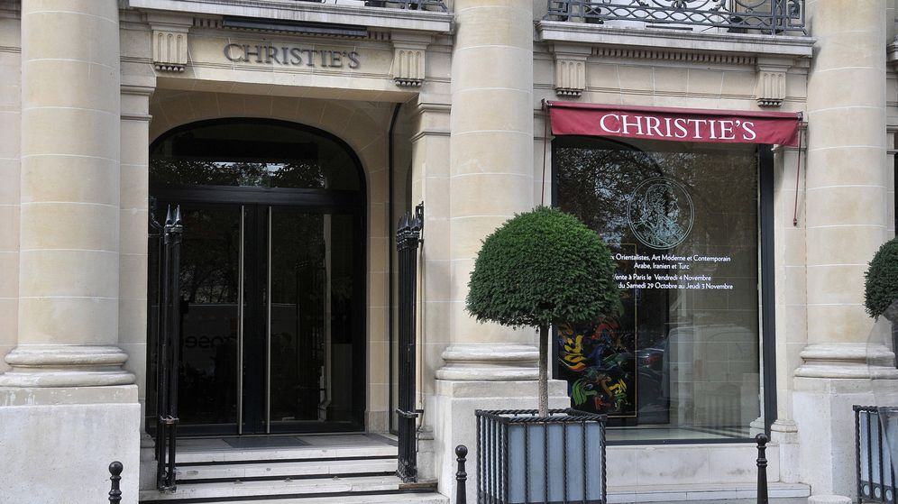Foto: Fachada de Chistie's en París. (Alamy)